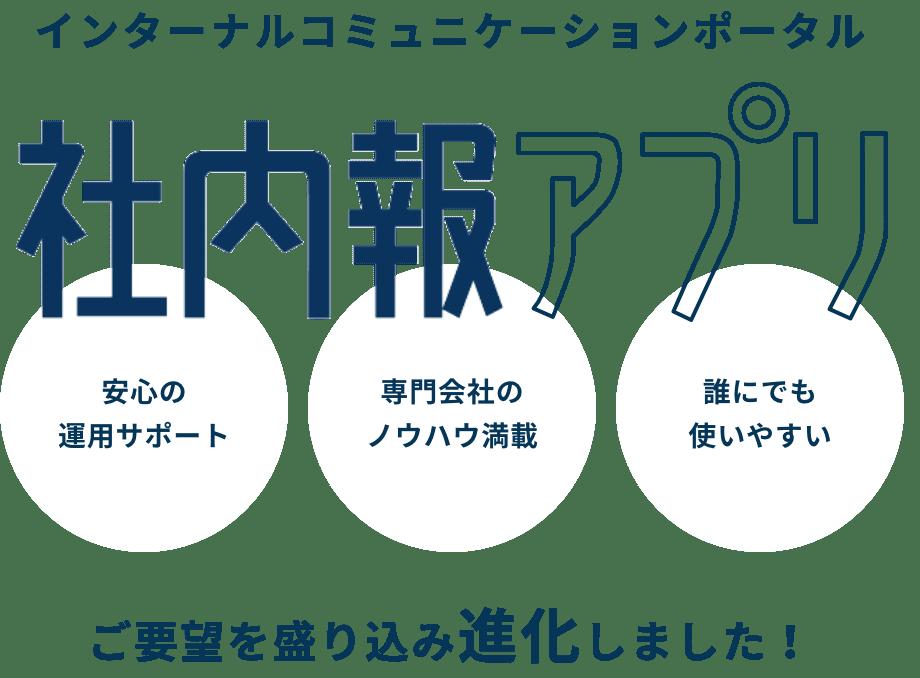 インターナルコミュニケーションポータル「社内報アプリ」