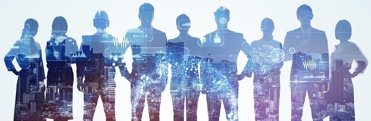 会社や社員をイメージした画像