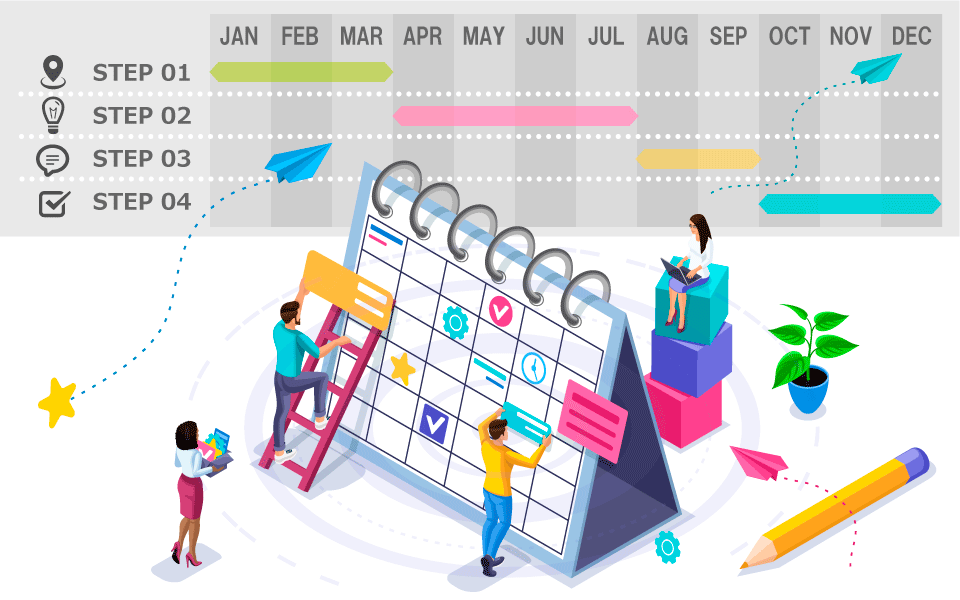 社内報の年間計画を立てるための4ステップ【ダウンロード資料付き】
