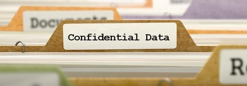 ①情報の機密性