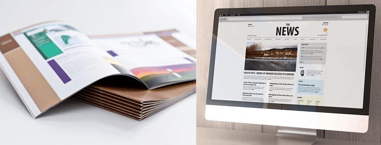 紙・Web社内報を併用するコツは?おすすめコンテンツや更新頻度を解説