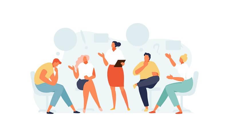 職場の人間関係の悩みに対処する4つの方法